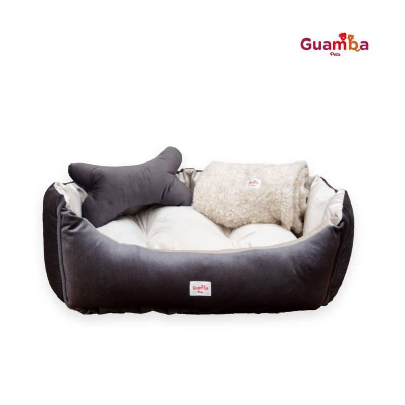 Guamba - Cama Mascota Oslo 60x70 Gris