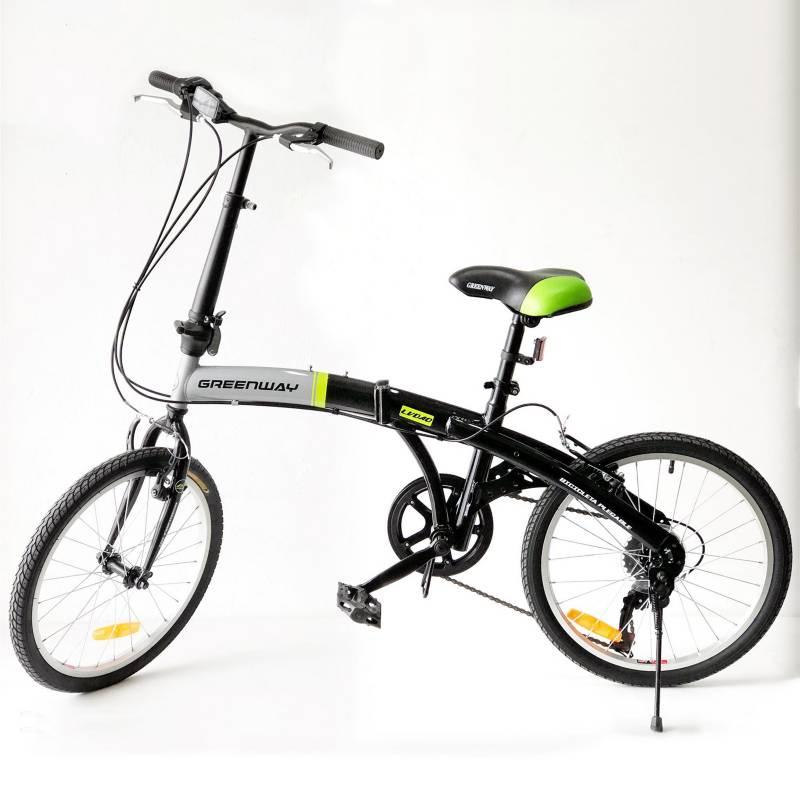 Green Way - Bicicleta Urbana Green Way GCL-FDB2020 20 pulgadas