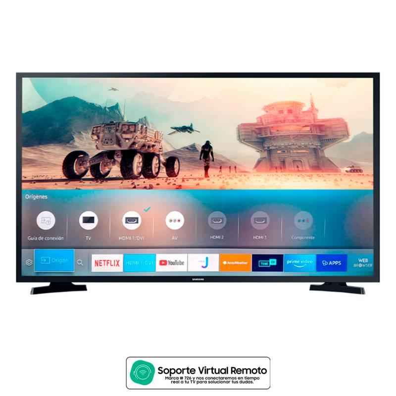 Samsung - Televisor Samsung 43 pulgadas LED Full HD Smart TV