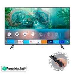Samsung - Televisor Samsung 43 pulgadas LED 4K Ultra HD Smart TV