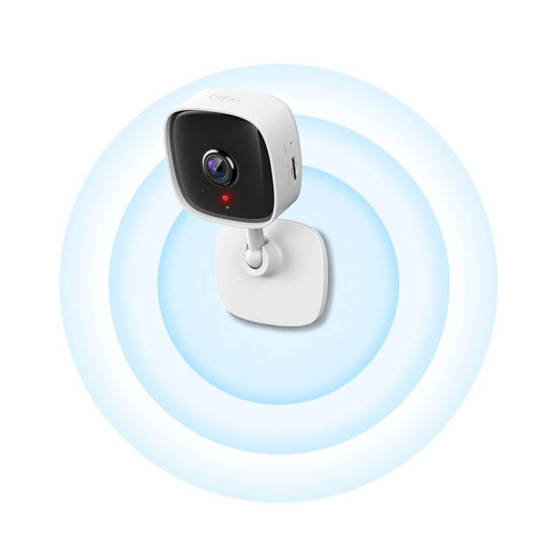 TP-Link - Cámara de Seguridad WiFi Fija TP-Link Tapo C100