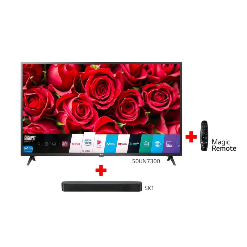 LG - Combo Televisor LG 50 Pulgadas Smart + Barra de sonido