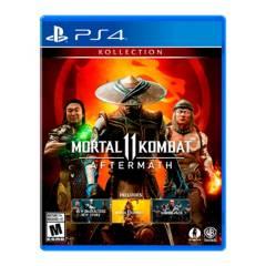 PlayStation - Mortal Kombat Aftermath PS4