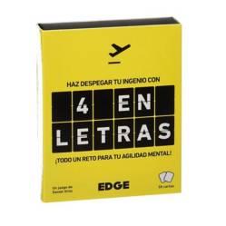 Edge Entertainment - Juego de Mesa 4 en Letras