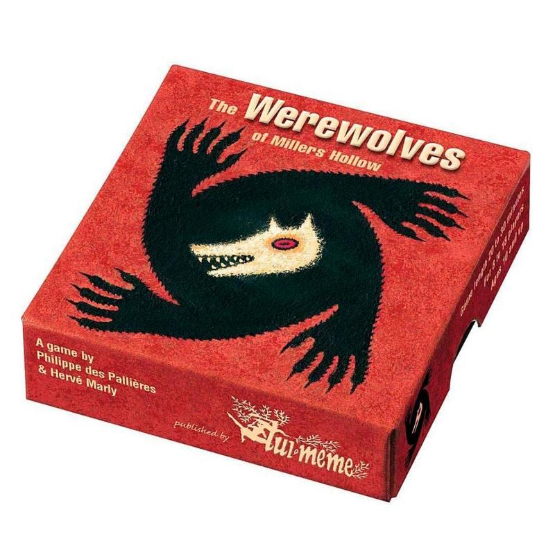Asmodee Studio - Juego de Mesa The Werewolves Of Millers' Hollow