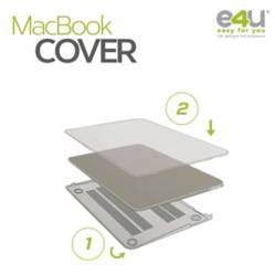 "E4U - Cover Para Macbook Air 13.3"", Transparente"