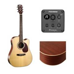 Cort - Guitarra electroacústica cort mr600f / natural mat