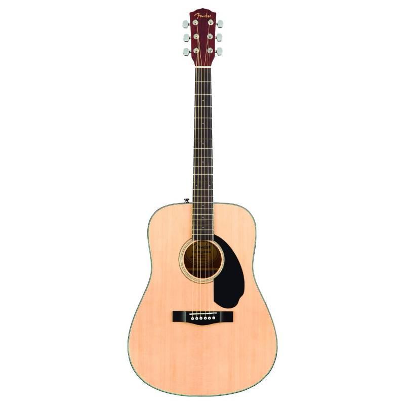Fender - Guitarra acustica cd-60sce natural fender