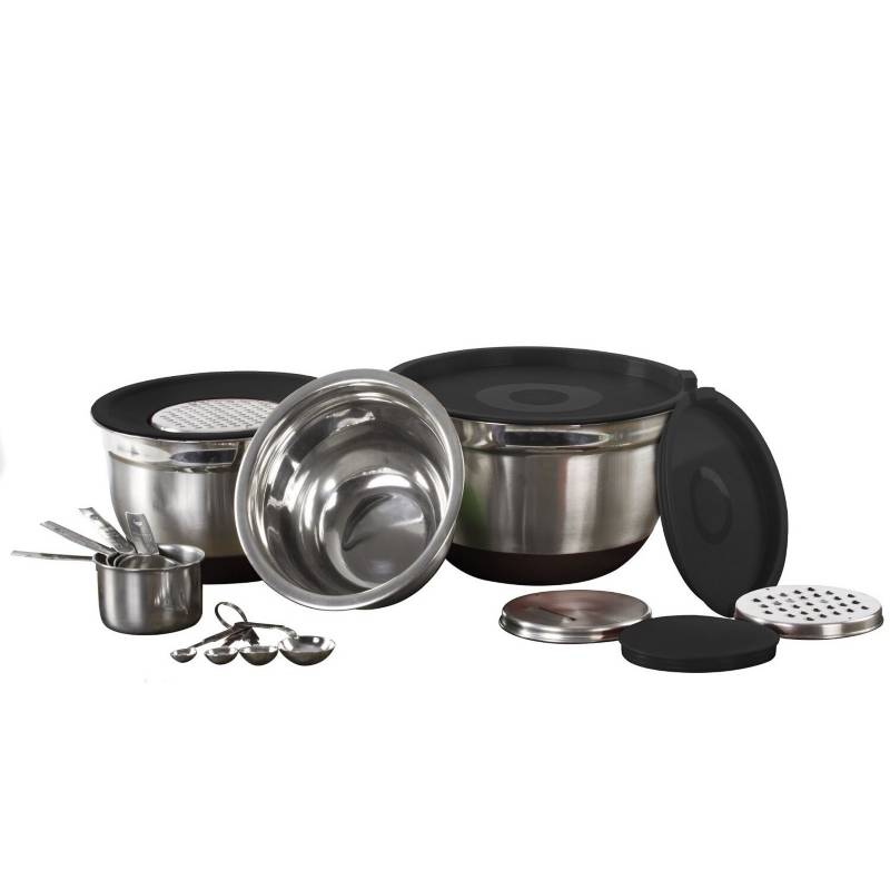 IMPERIAL HOME - Set cocina 17 pzas acero inoxidablemw-3451