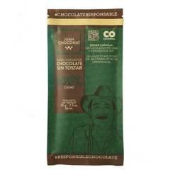 Juanchoconat - Barra Chocolate 100% Cacao Sin Tost