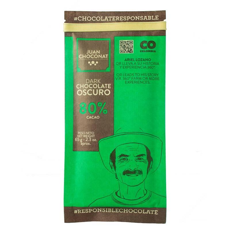 Juanchoconat - Barra 80% Cacao