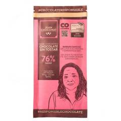 Juanchoconat - Barra 76% Cacao Sin Tostar