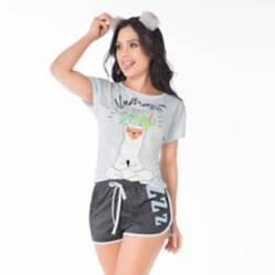 Dlunaas - Pijama mujer manga corta short