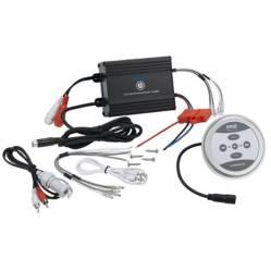 PYLE - Micro amplificador bluetooth de 4 canales