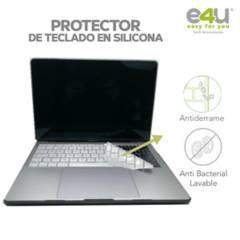 """E4U - Protector teclado silicona macbookpro 13""""/15""""sintb"""