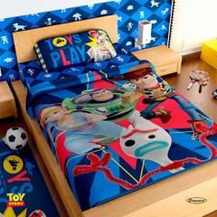 Toy Story - Sábana Individual Infantil Microfibra Toy Story Twin