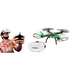 Toy Logic - Juguete Electrónico Toy Logic Drone con Cámara Wifi Gafas