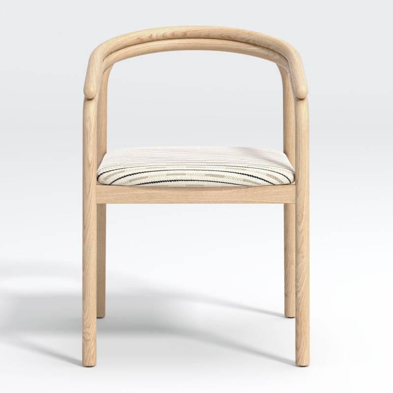 Crate & Barrel - Silla de Comedor Redonda 56 cm