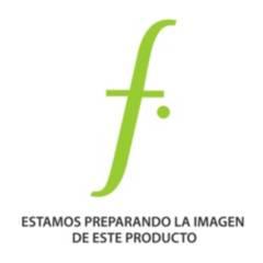 Crate & Barrel - Canasta de Baño Simi Nickel Plateada