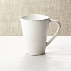 Crate & Barrel - Mug Marin Blanco