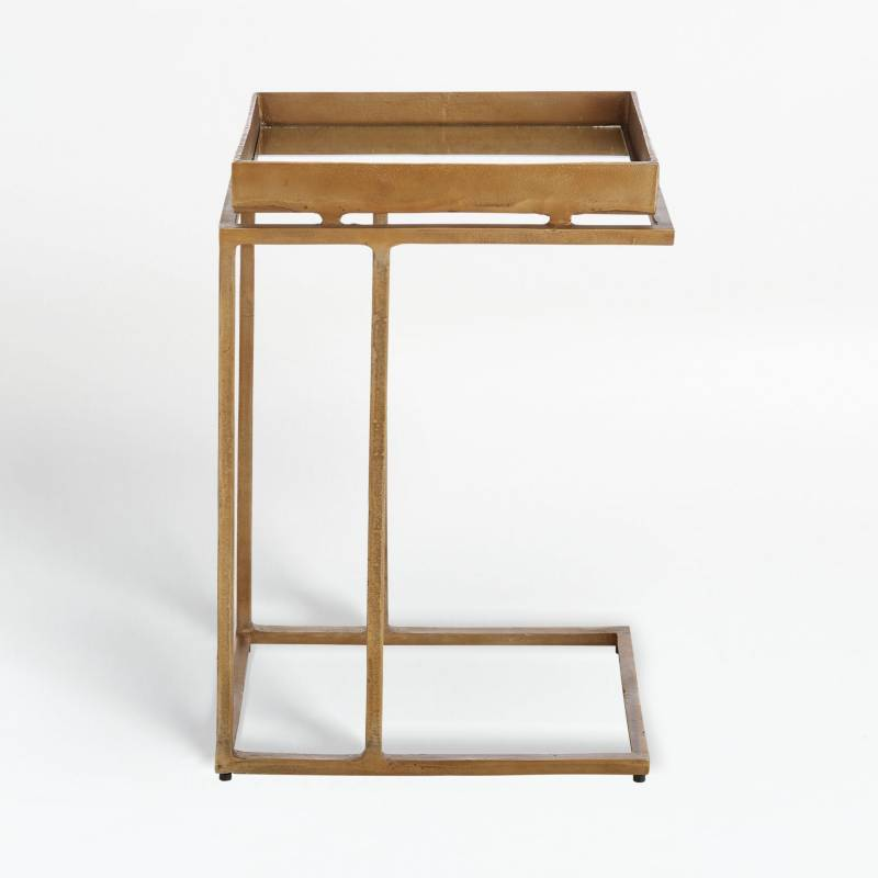 Crate & Barrel - Mesa Auxiliar Echo 67 cm.