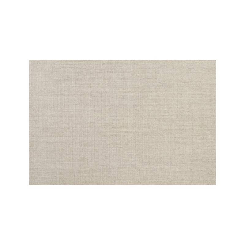 Crate & Barrel - Alfombra Sisal Lino de 152 cm x 244 cm