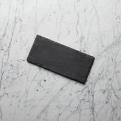 Crate & Barrel - Tabla de Pizarra para Quesos de 30cm x 14cm