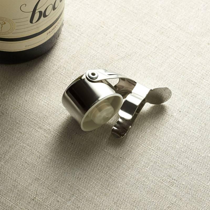 Crate & Barrel - Tapa botellas para champagna