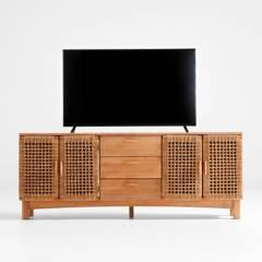 Crate & Barrel - Mueble de TV Prairie