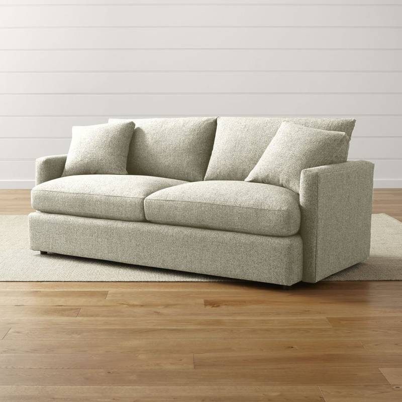 Crate & Barrel - Sofá Lounge 3 Puestos