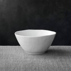 Crate & Barrel - Bowl Mercer Blanco 16 cm