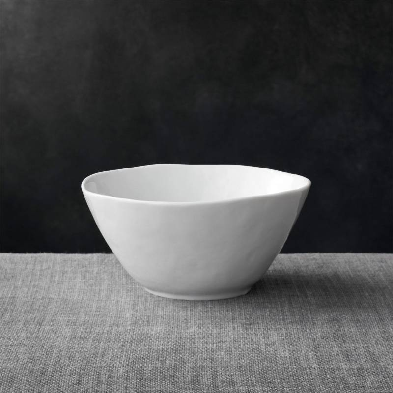 Crate & Barrel - Bowl Mercer Blanco 16 cm