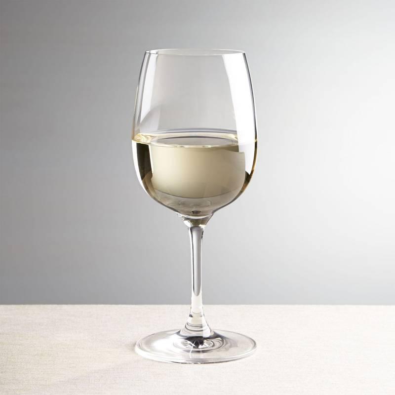 Crate & Barrel - Copa para Vino Blanco Viv de 384 ml