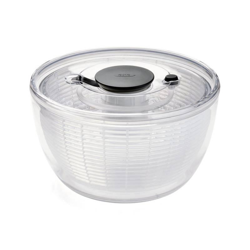 Crate & Barrel - Escurridor Giratorio para Ensalada Grande OXO