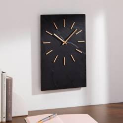 Crate & Barrel - Reloj de Pared Slater en Piedra 25 x 38 cm