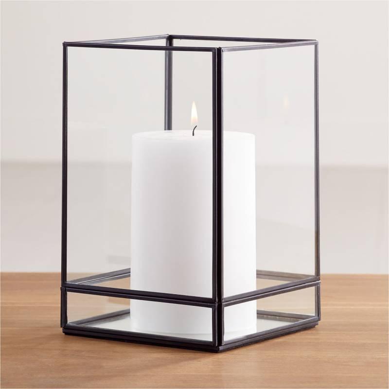 Crate & Barrel - Candelabro Jasper 23.49 cm