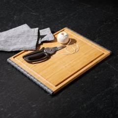 Crate & Barrel - Tabla para Picar Architec en Bambú