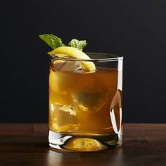 Crate & Barrel - Vaso para Doble Old-Fashioned Impressions