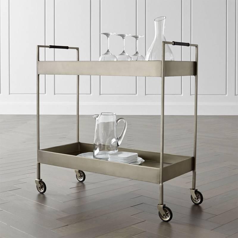 Crate & Barrel - Bar Libations Platino