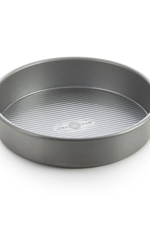 Crate & Barrel - Molde Antiadherente para Pasteles Redondo USA Pan Línea Pro