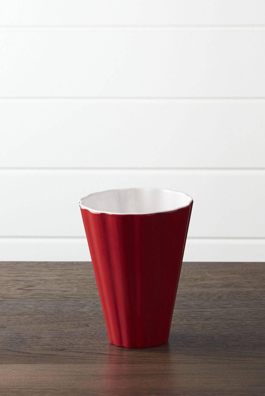 Crate & Barrel - Bowl Popcorn en Melamina 15 cm.