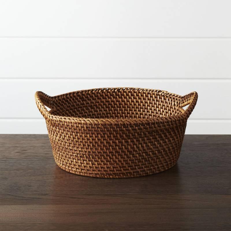 Crate & Barrel - Canasta Artesia Grande