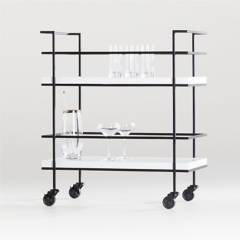 Crate & Barrel - Bar Adina Negro