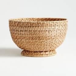 Bowl Artesia Natural en Ratán Grande