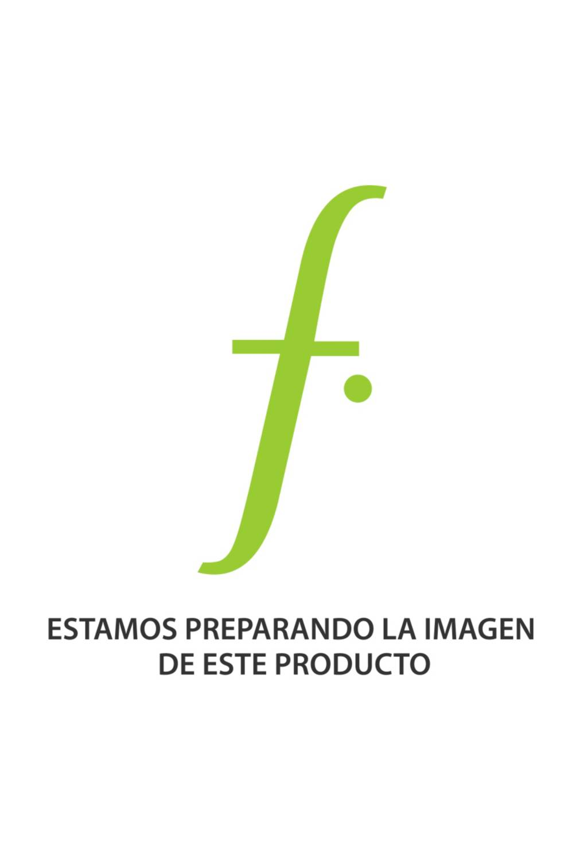 Crate & Barrel - Florero Tavio Gris y Blanco