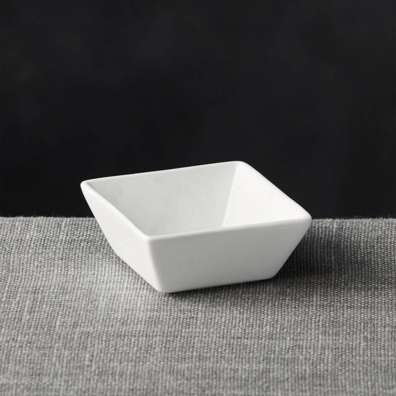 Crate & Barrel - Bowl de Servir Saldas Cuadrado 8 cm