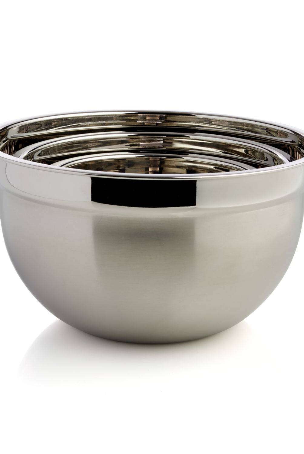 Crate & Barrel - Bowl de Preparar en Acero Inoxidable 26 x 14 cm