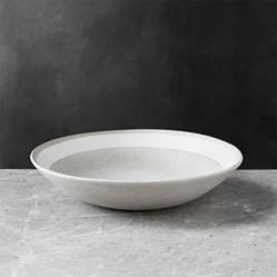 Crate & Barrel - Bowl Bajo Pedra 23 cm