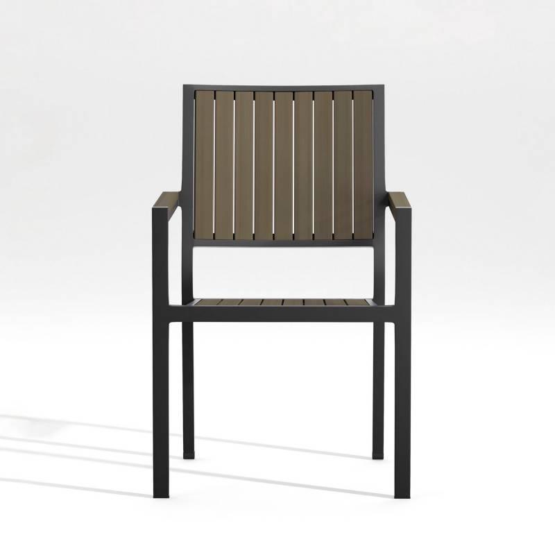 Crate & Barrel - Silla de Comedor Alfresco 91 cm