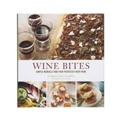 Crate & Barrel - Libro de Cocina Wine Bites